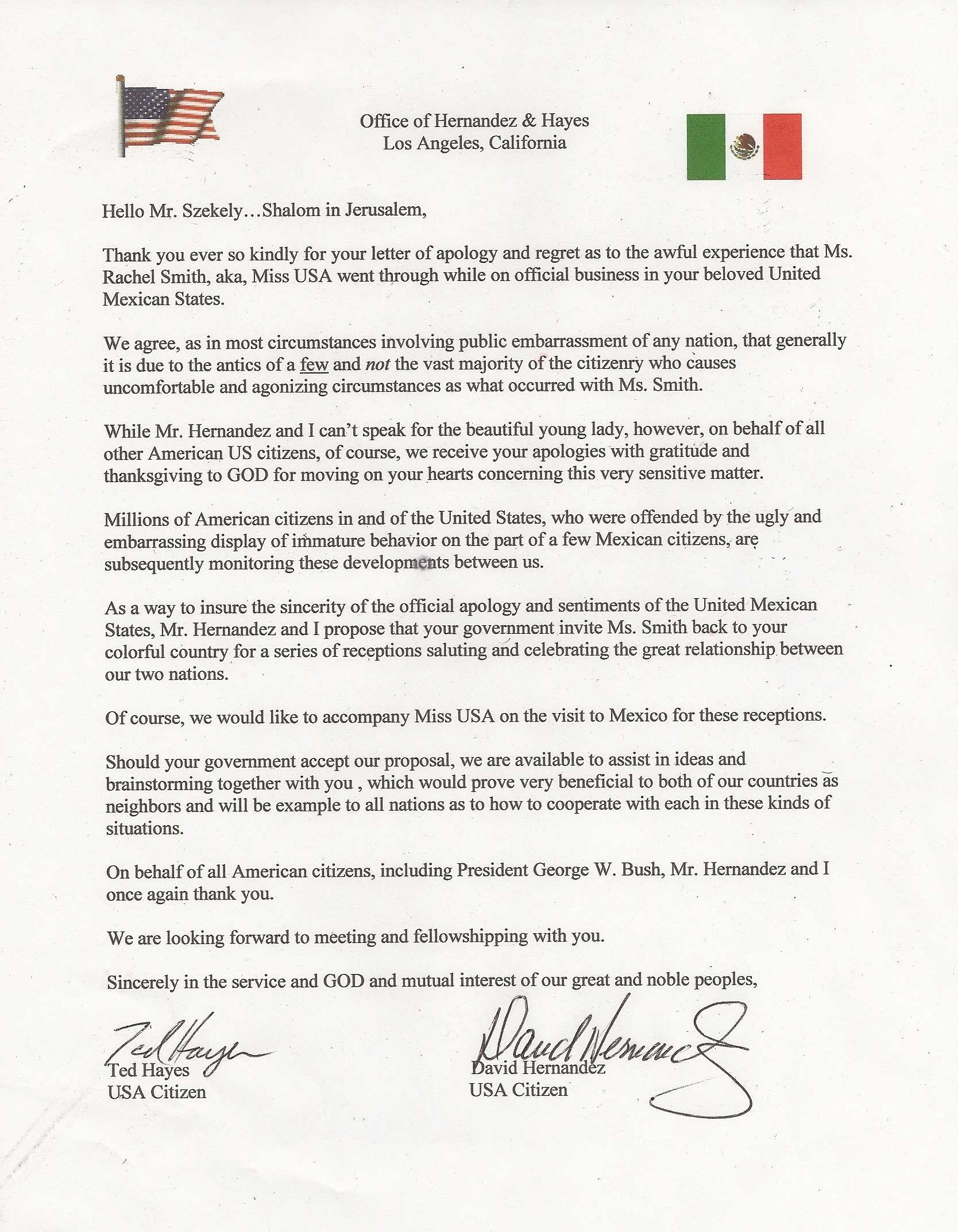 mexican government response paper Reuters/edgard garrido the mexican government issued its most strident  official response to donald trump's incendiary comments about.